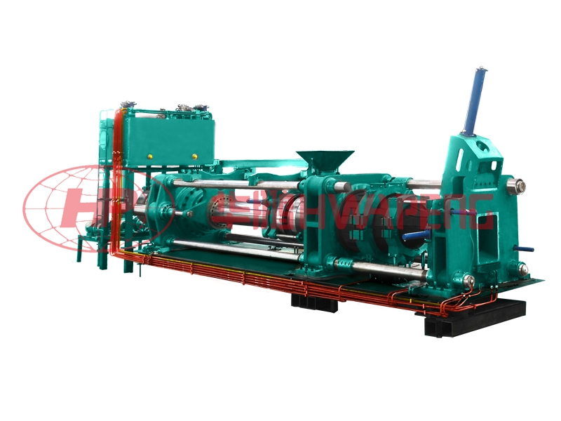 Application of 1500T extrusion press in production of graphite electrode