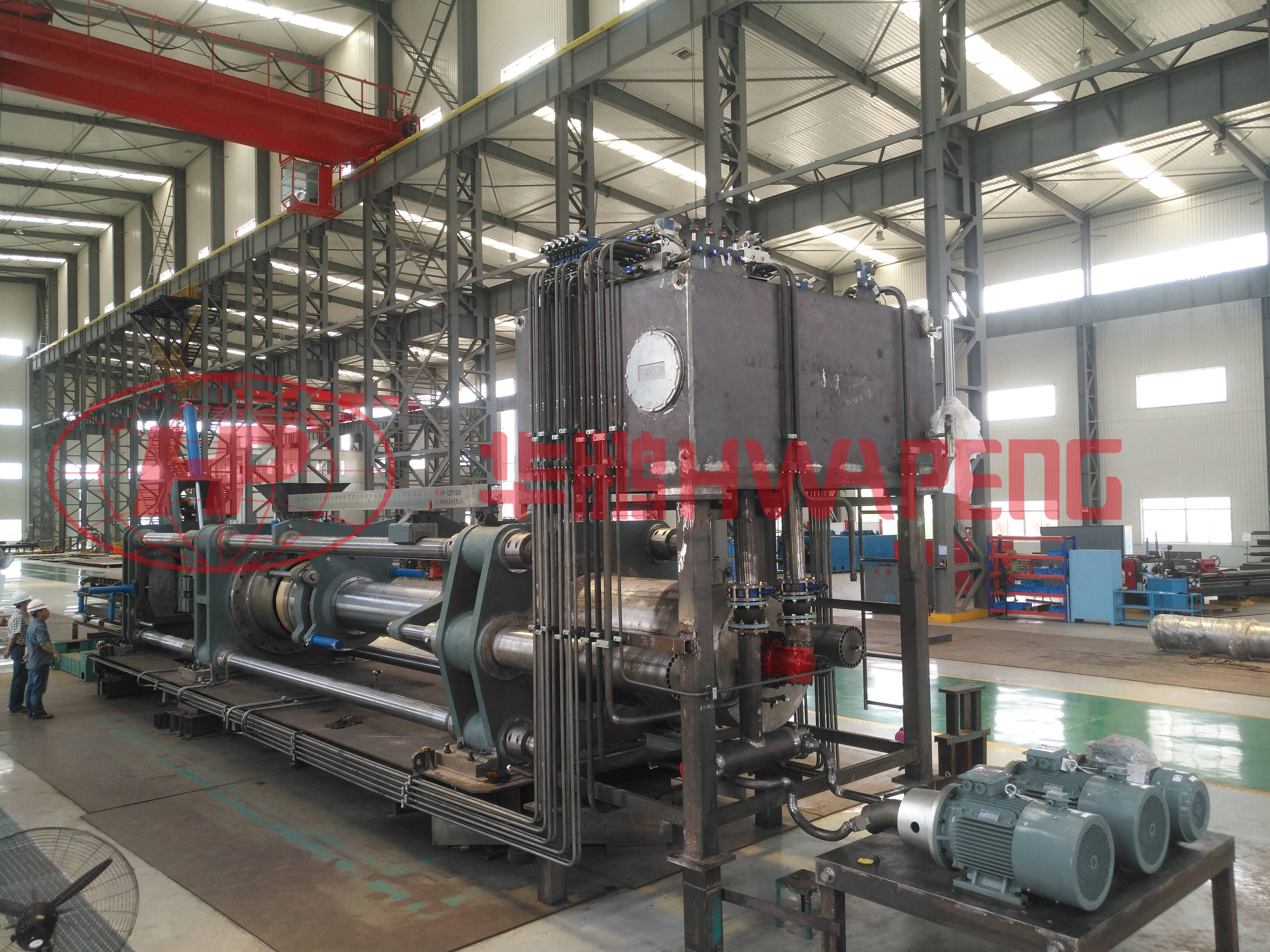 HP-CEP Series Electrode Extrusion Press