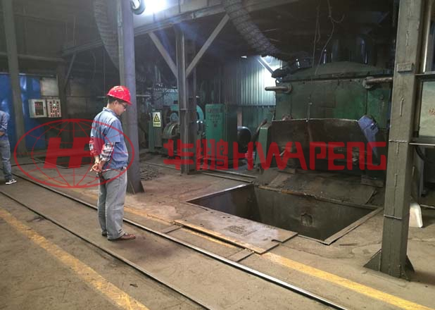 Application of hydraulic tilting kneader in production of special graphite