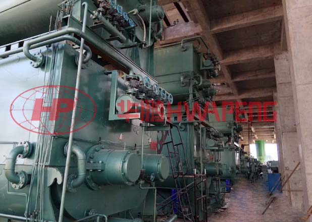 Application of 5000L double-layer heating kneader in production of carbon electrode