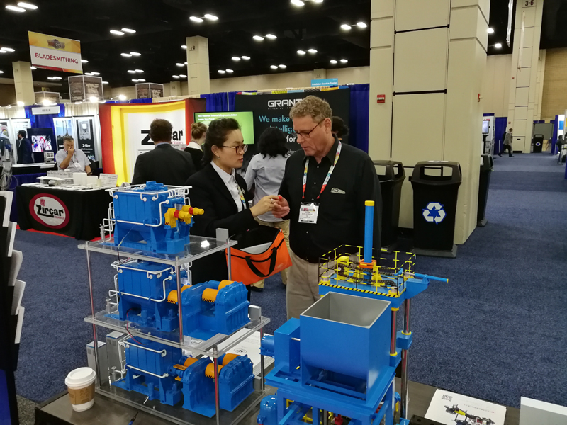 Hwapeng Attends the 148th Annual Meeting & Exhibition of the Minerals, Metals and Materials Society (TMS) in America